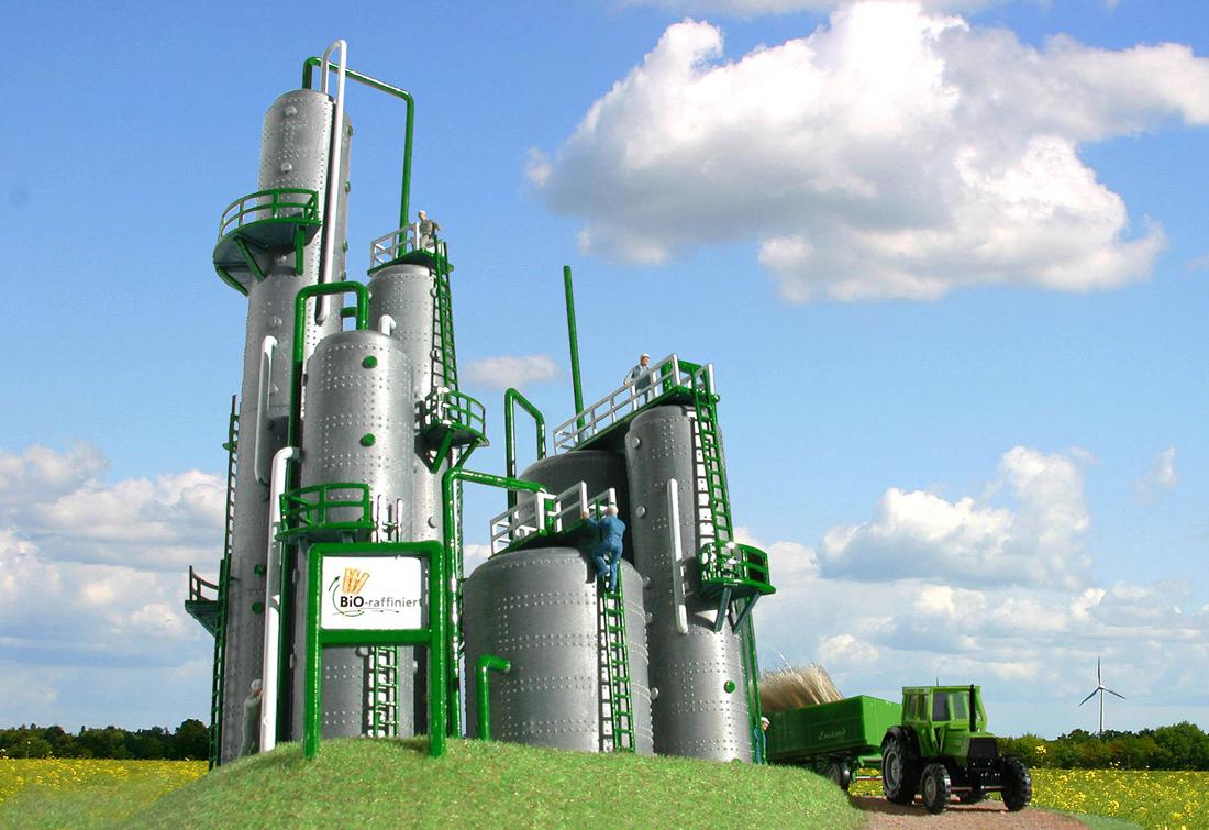 una Bioraffineria per ridurre l'inquinamento del 50% e pagare meno tasse sui rifiuti