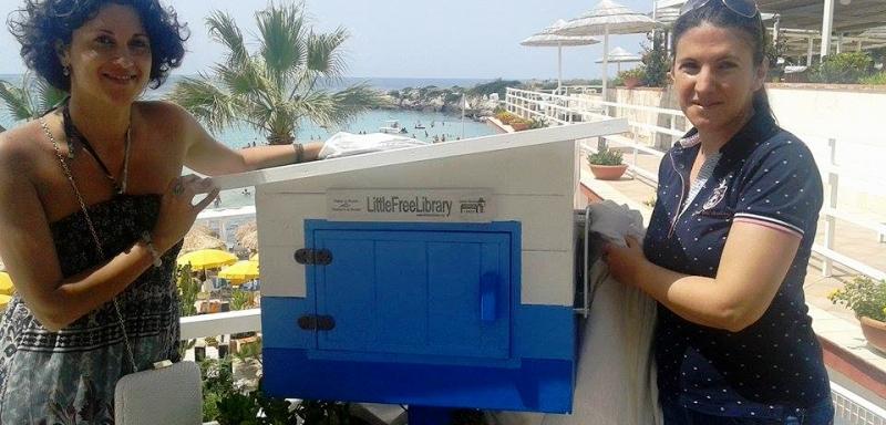 Inaugurata la mini biblioteca gratuita in spiaggia!