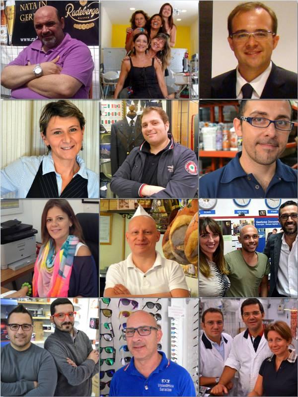 16 commercianti uniti per offrire più servizi e qualità!