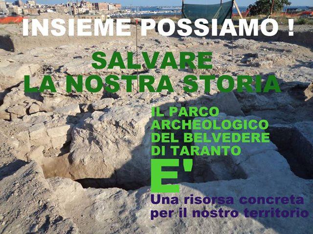 Visita al Parco archeologico del Belvedere a Taranto