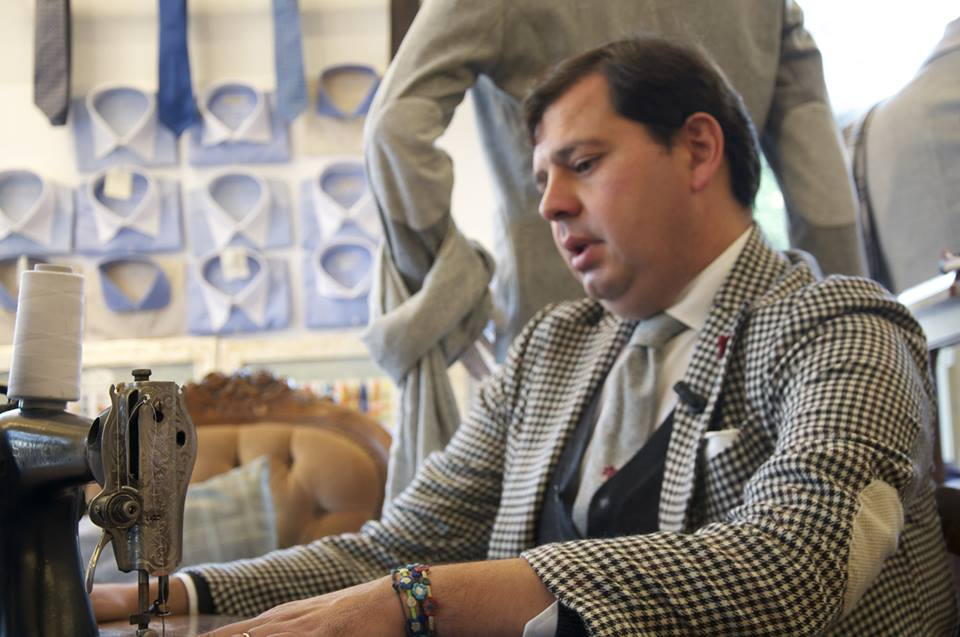 Angelo Inglese, l'imprenditore camiciaio ginosino più famoso al mondo