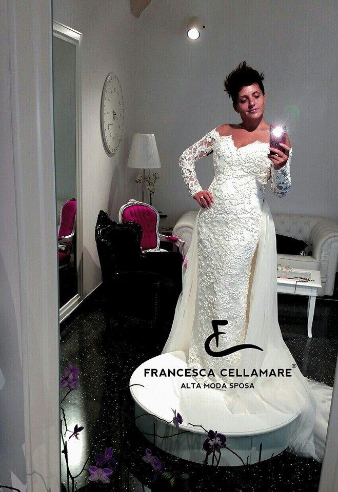Francesca Cellamare posa per Made in Taranto