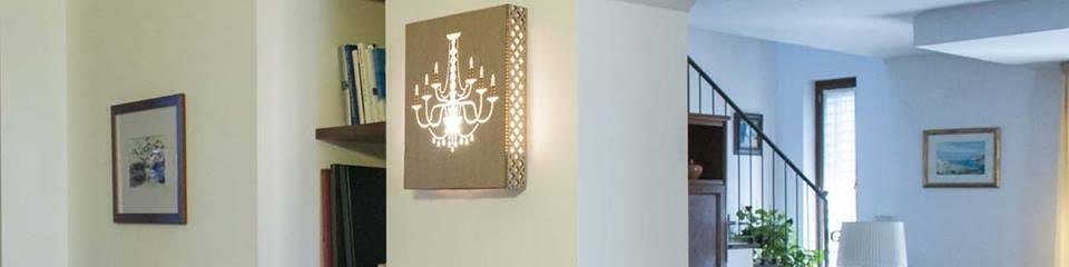 Lampade in cartone: artigianato Made in Taranto eco compatibile