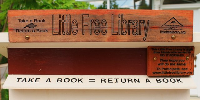 Librerie in spiaggia Little Free Library2