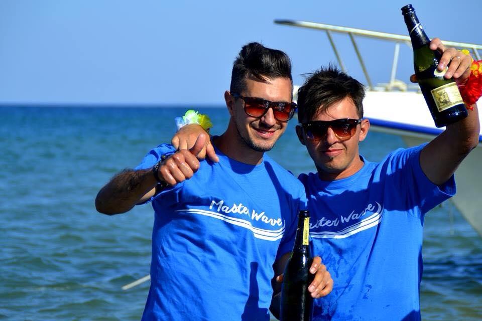 Dall'Ilva al mare: Fabio e Vincenzo ci provano con Master Wave