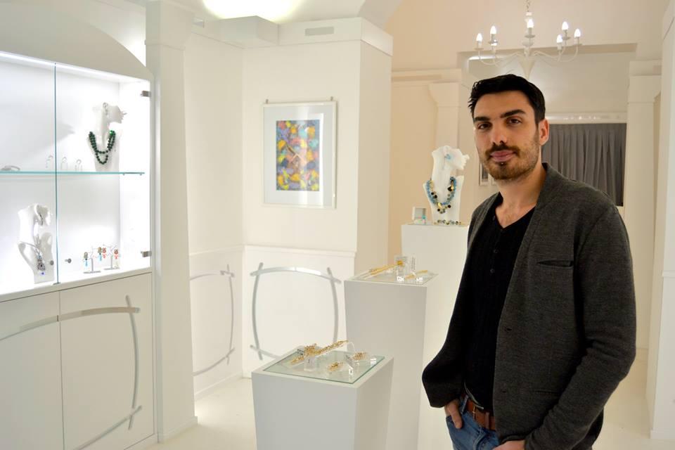 a Taranto, un giovane designer rivoluziona il concetto di bijoux!