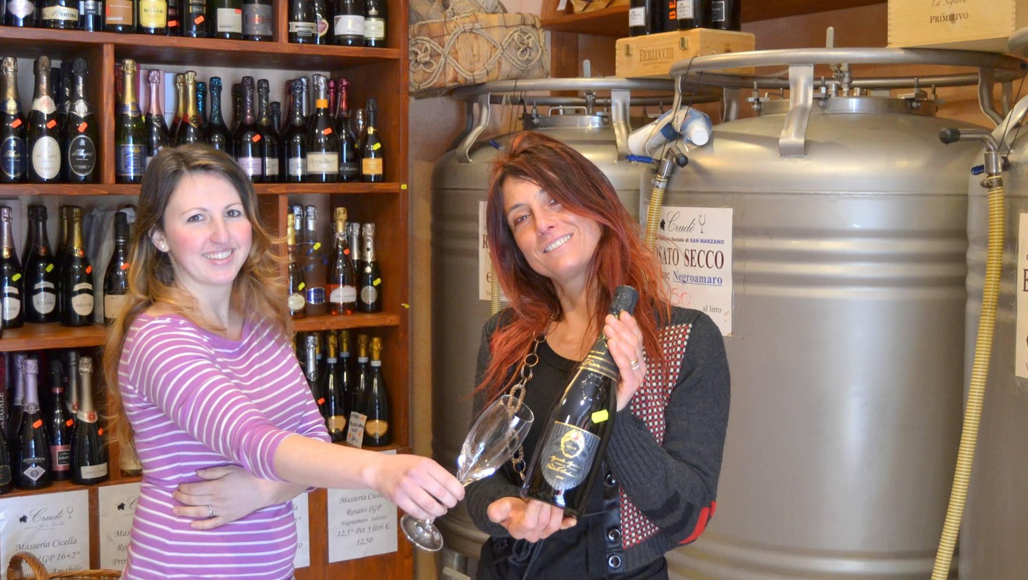 Enoteca Crudò: a Taranto, il vino di qualità per tutte le tasche