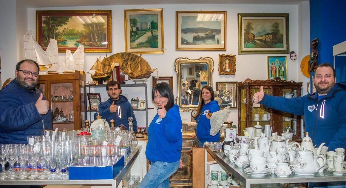 Mercatopoli, il negozio dell'usato a  Taranto compie 5 anni