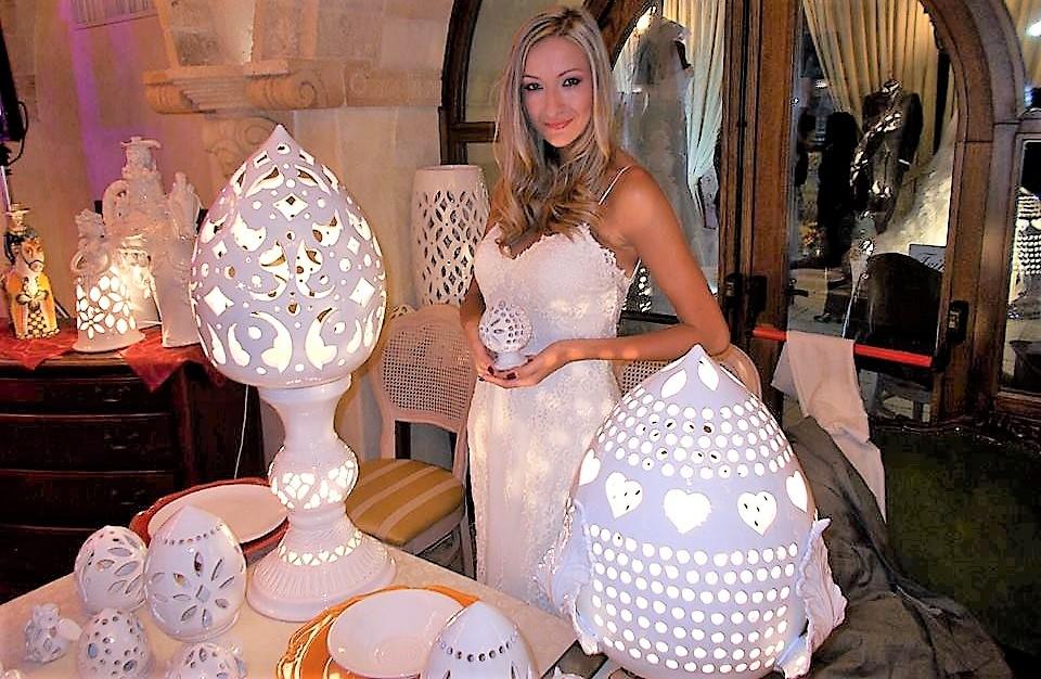 Bomboniere per matrimonio con le ceramiche di Giuseppe Fasano: scegli l'originalità