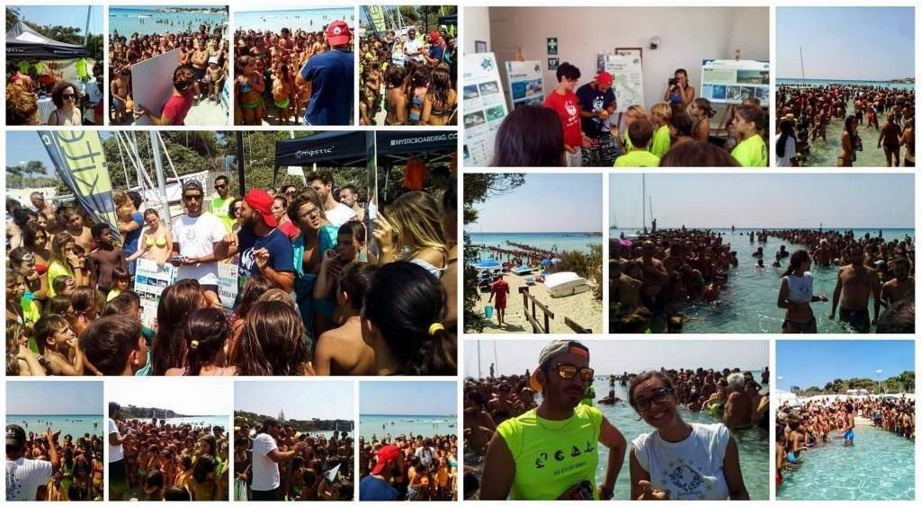 a Taranto, l'Eco Day diventa Festival del Mare e dello Sport: insieme si può