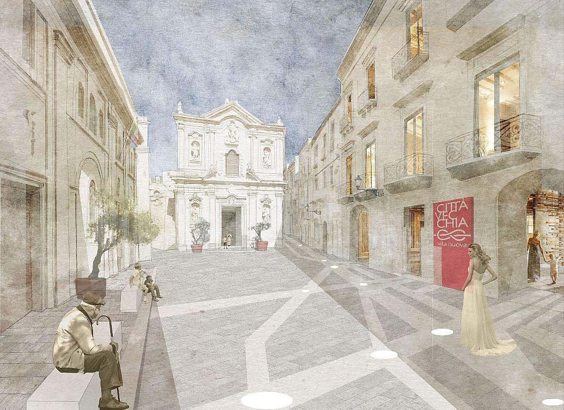 Città Vecchia di Taranto: il suo nuovo volto presto potrebbe essere così