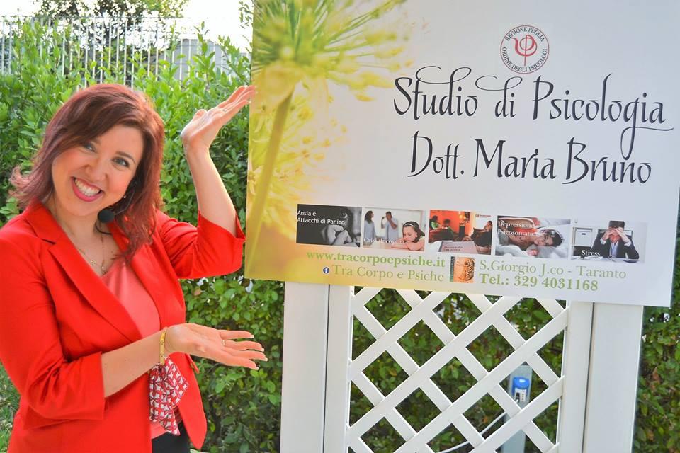 Maria, la psicologa tarantina che ha fatto del sorriso il suo mestiere