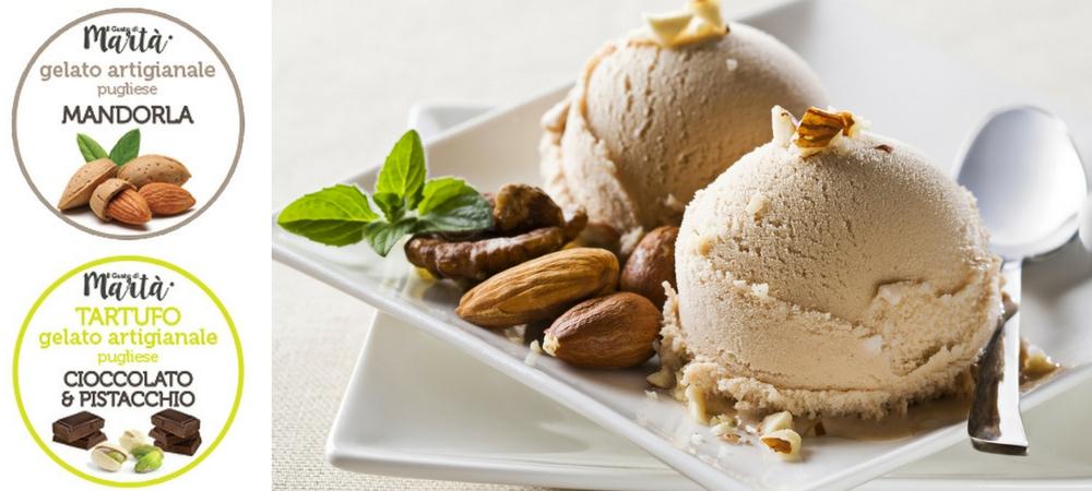 """Ecco """"Il Gusto di Martà"""", il vero gelato artigianale Made in Taranto"""