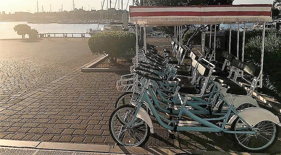 Noleggio Bici Tandem Risciò a Taranto: più vantaggi per chi ha la City Card