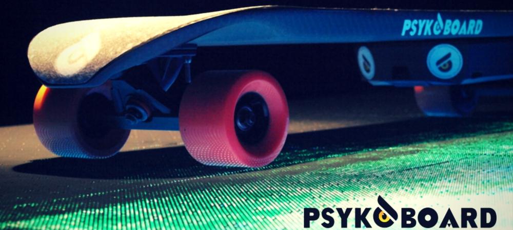 Ecco Psykoboard, lo skateboard elettrico brevettato da 2 tarantini