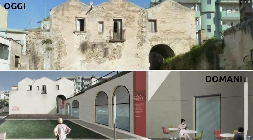 Masseria Solito diventerà a breve museo, caffè letterario e piazza urbana