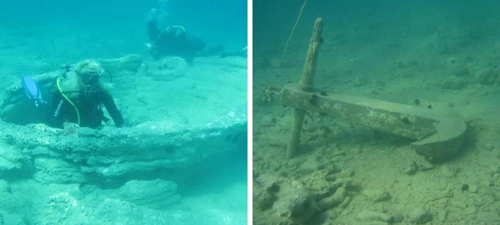 Scoperto antico porto greco-romano e Foresta pietrificata a Torre Ovo