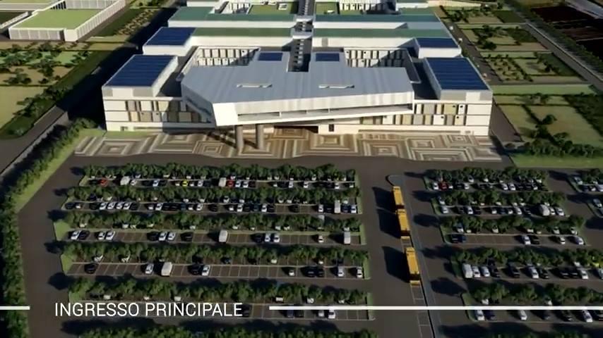 Ecco come sarà il nuovo Ospedale di San Cataldo a Taranto