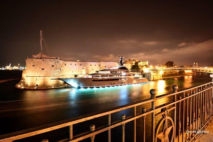 Taranto si fa bella e diventa regina del cinema mondiale