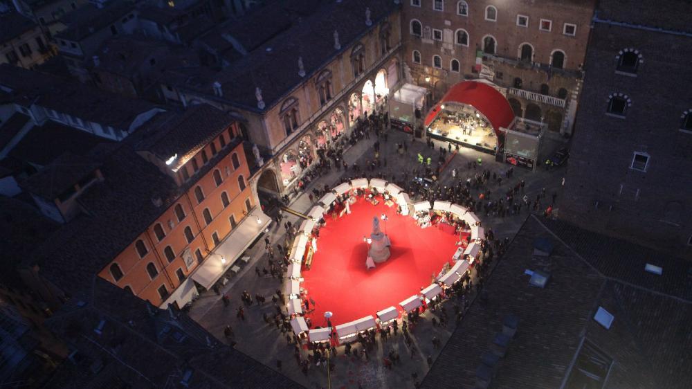 San Valentino in piazza a Taranto con le eccellenze italiane del cioccolato