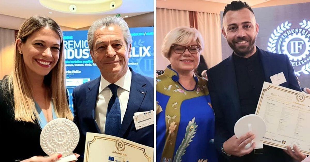 Premio Industria Felix a 2 tarantini: El Cohiba 59 e Cantine Varvaglione