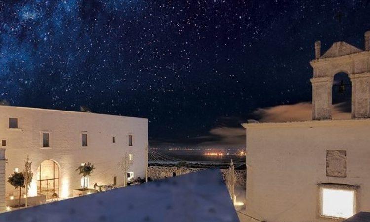 Calici di stelle in masseria Amastuola