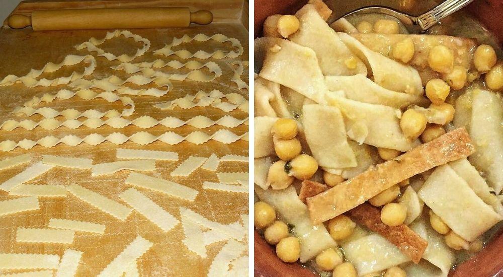 Ciceri e tria (e cozze), una delle più antiche ricette della cucina pugliese