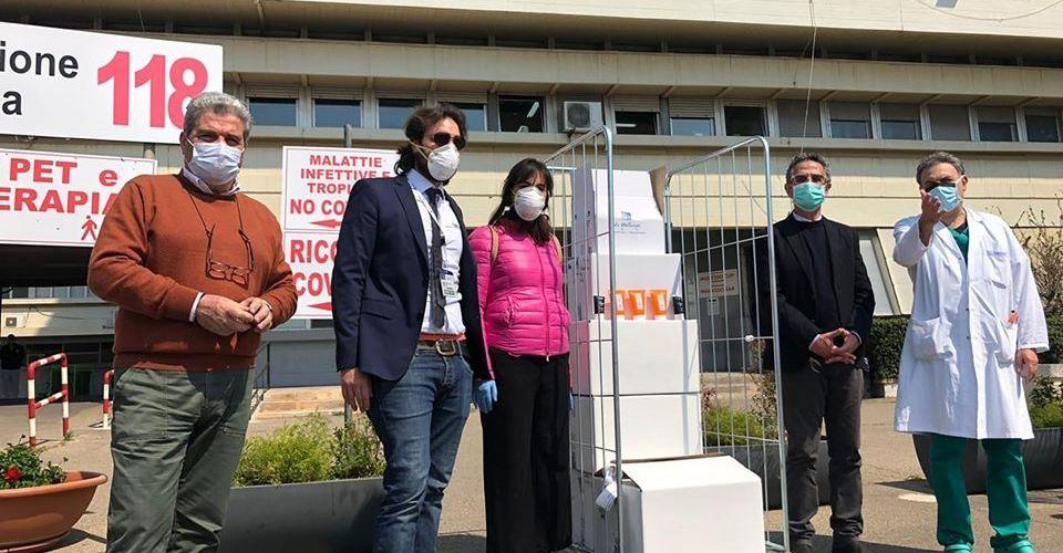 La Mediterranee dona 1000 gel igienizzanti all'Ospedale Moscati di Taranto