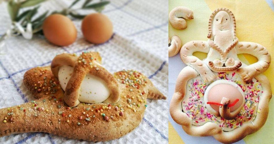 Pupe e Scarcelle: a Pasqua, i dolci tipici della tradizione tarantina