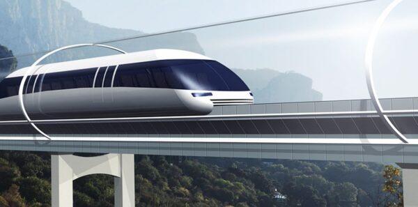 Bari-Napoli in 15'con il treno a levitazione magnetica