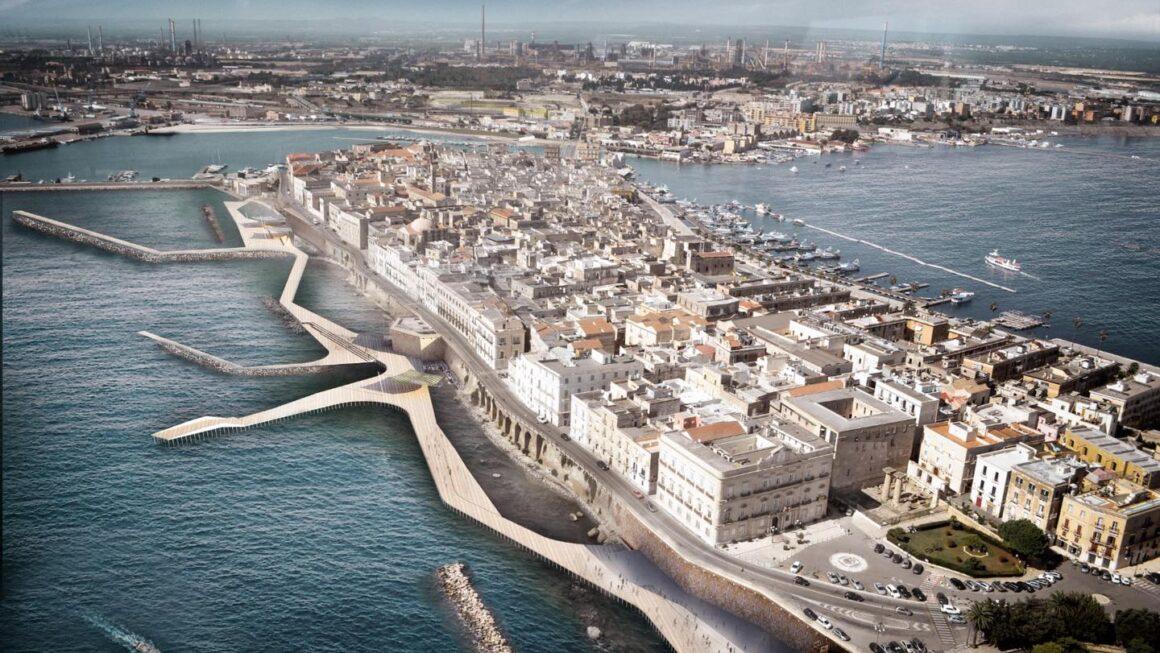 Lungomare di Taranto: ecco come sarà la nuova passeggiata panoramica
