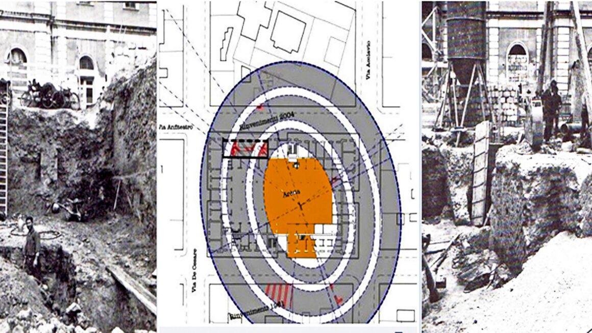 Le foto esclusive dell'anfiteatro romano di Taranto nascosto sotto i palazzi