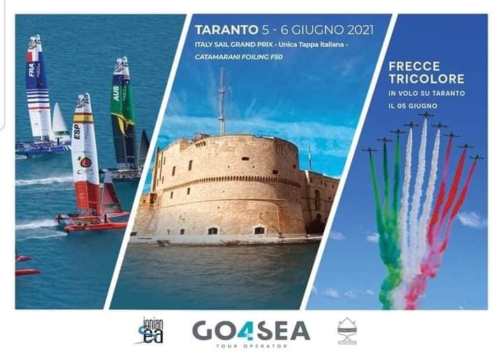 SailGP a Taranto