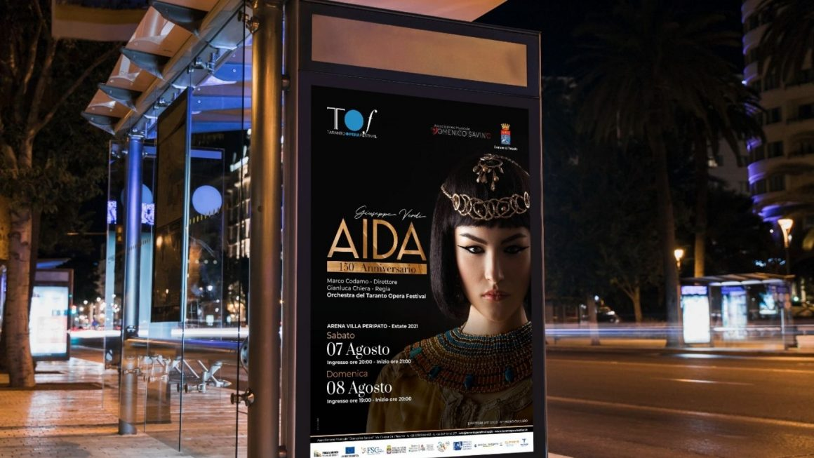 Per i 150 anni dell'«Aida» a Taranto, musica, itinerari e degustazioni