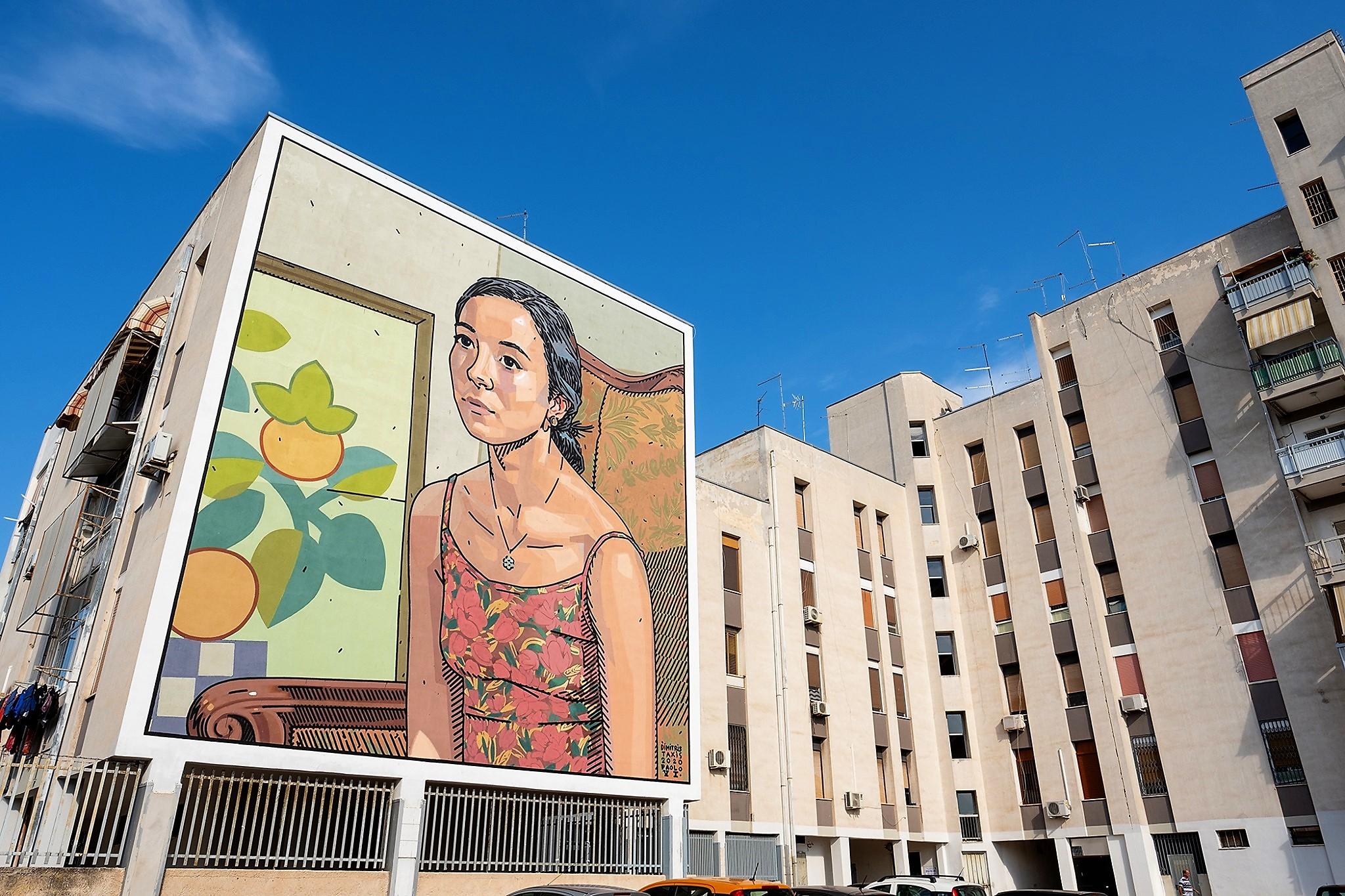 Street artist taranto