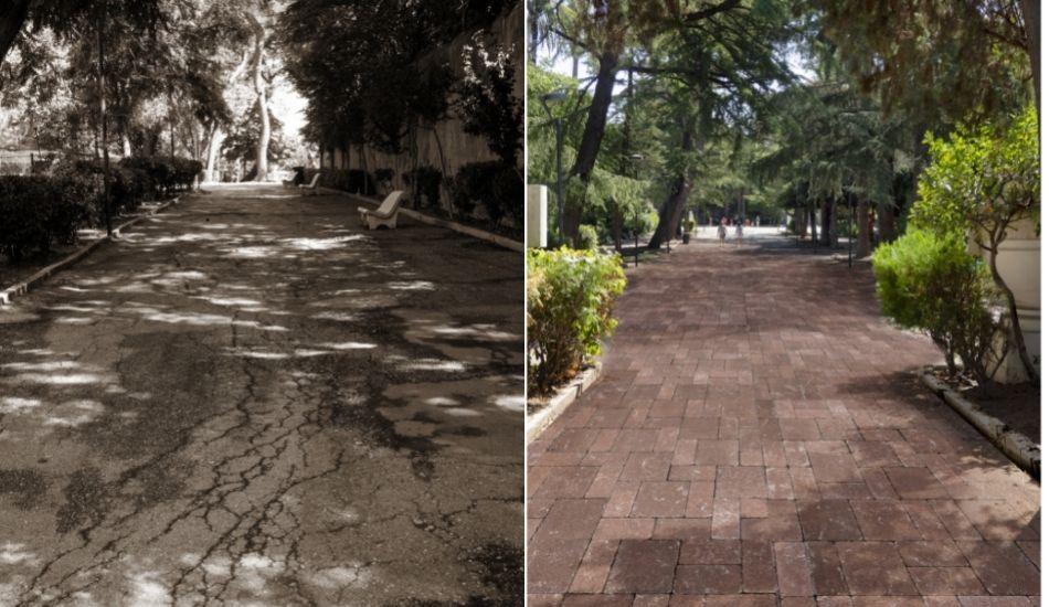 Villa Peripato: via l'asfalto, largo ai pavimenti eco-sostenibili